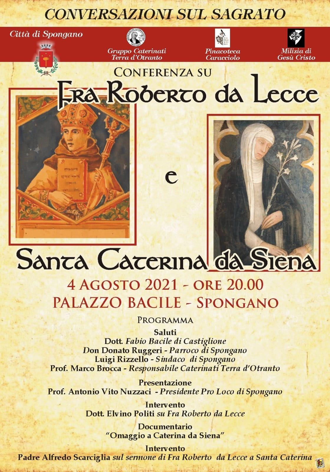 Frà Roberto da Lecce e Santa Caterina da Siena